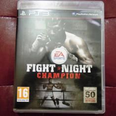 Joc Fight Night Champion, PS3, original, 48.99 lei! - Jocuri PS3 Ea Sports, Sporturi, 16+, Multiplayer