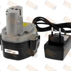 Acumulator compatibil Makita 4333DWD Li-Ion 2000mAh cu incarcator - celule japoneze