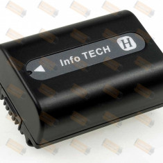 Acumulator compatibil Sony DCR-SR55E 750mAh - Baterie Camera Video