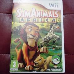 Sim Animals Africa, Wii, original, alte sute de jocuri! - Jocuri WII Ea Games, Simulatoare, 3+, Single player