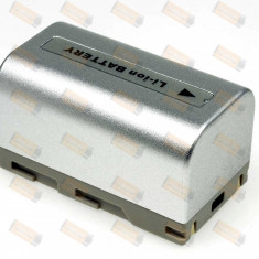Acumulator compatibil Samsung model SB-LSM80 argintiu - Baterie Camera Video