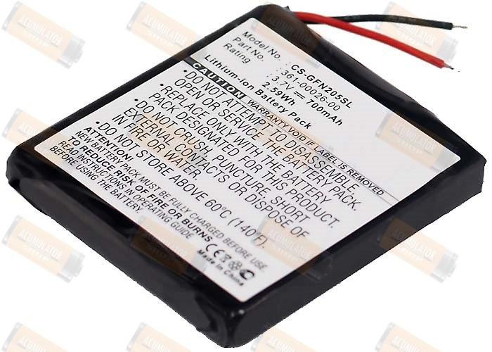 Acumulator compatibil Garmin Forerunner 305 foto mare