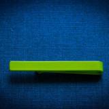Ac pentru cravata slim verde, ac de cravata slim verde,  3,5 centimetri