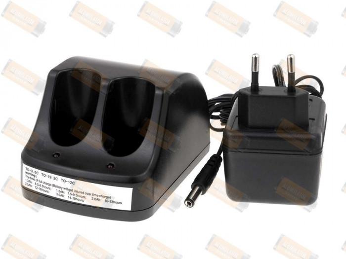 Incarcator pentru 2 buc. acumulatori Black & Decker VersaPak VP100 - 200mAh (incarcare standard)