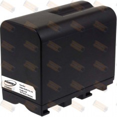 Acumulator compatibil Sony DCR-VX2100 7800mAh negru - Baterie Camera Video