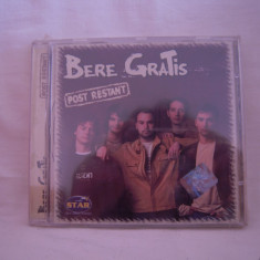 Vand cd audio Bere Gratis-Post Restant, original, raritate!-sigilat - Muzica Pop nova music