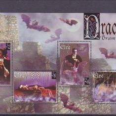 Dracula Stoker, Irlanda . - Timbre straine, Nestampilat
