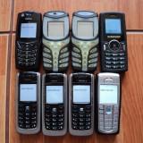 Lot telefoane mobile ! Pachet telefoane mobile ! 7 X Nokia + 1 x Samsung !, Negru, Nu se aplica, Neblocat