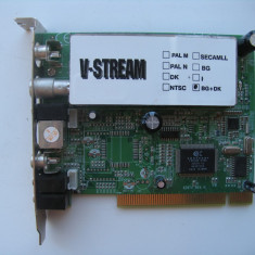 TV-Tuner V-Stream KWorld VS-TV878RF cu radio FM (PCI) - TV-Tuner PC Kworld, DVB-T, Intern