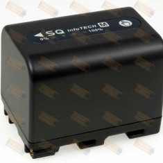 Acumulator compatibil Sony model NP-QM70 2800mAh antracit - Baterie Camera Video