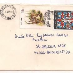 % plic-Scrisoare intre 2 mari filatelisti romani, An: 1993