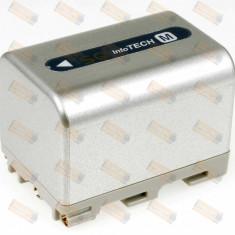 Acumulator compatibil Sony model NP-FM50 3400mAh argintiu - Baterie Camera Video