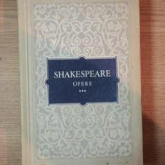 SHAKESPEARE-Opere 3 -Cei doi tineri din Verona Zadarnicele chinuri ale dragostei Visul unei nopti de vara Mult zgomot pentru nimic - Carte Teatru