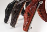 Curea piele naturala pafta crocodil M1 (4culori) curele barbati catarama +CADOU!, Alta, Din imagine, curea si catarama