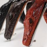 Curea piele naturala pafta crocodil M1 (4culori) curele barbati catarama +CADOU!