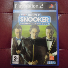 Joc World Snooker Championship 2007, PS2, original, alte sute de jocuri! - Jocuri PS2 Sega, Sporturi, 3+, Multiplayer