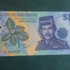 BRUNEI - 1 DOLLAR 1996 -UNC ( nr 0001 )