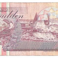 SURINAME 100 GULDEN 1991 F - bancnota america