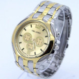 Ceas de mana golden model Sport cu curea metalica, Lux - sport, Quartz, Inox