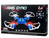 Cumpara ieftin DRONA MARE 4 CANALE,2.4GHZ,ZBOR 4D,6 AXE,ACCESORII SCHIMB,ZBOR SENZATIONAL,30cm.