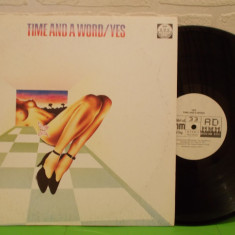YES - TIME AND A WORD disc VINIL LP / VINYL - Muzica Rock Altele