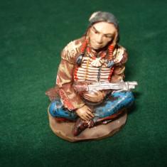 2482.Figurina din rasina AMERICAN NATIVE Indian Creek scara 1:32