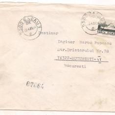 % plic-Scrisoare circulata, An: 1980