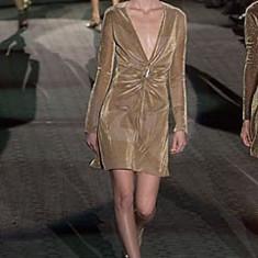 Rochie din lurex Gucci by Tom Ford, 100% originala - Rochie ocazie Gucci, Marime: M, Culoare: Din imagine, S/M, 3/4