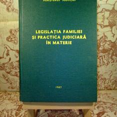 """Legislatia familiei si practica judiciara in materie """"A1599"""" - Carte Dreptul familiei"""