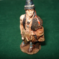 2481.Figurina din rasina AMERICAN NATIVE Indian Dwamish scara 1:32