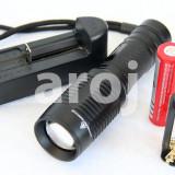 Lanterna Profesionala Reincarcabila LED CREE XM-L T6