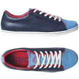 40,40 2/3 _Adidasi originali barbati Kappa_piele_albastru_cutie, Albastru, Piele naturala, Kappa