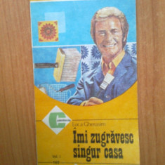 N2 Imi zugravesc singur casa - Luca Gerasim - volumul 1 - Carte amenajari interioare