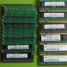 Memorie laptop SODIMM DDR2 256MB PC2-4200 533MHz
