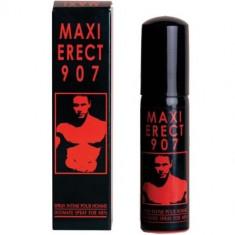 Maxi Erect 907 spray erectie puternica, 25ml - Stimulente sexuale, Creme si sprayuri