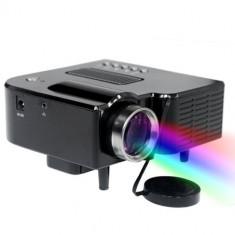 PROIECTOR VIDEO CU LED, ULTIMA TEHNOLOGIE, INTRARE HDMI, STICK USB, TELECOMANDA.NOU. - Videoproiector, 15 000 - 20 000 ore, Sub 1000, 1920x1080
