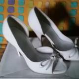 Vand pantofi dama - Pantof dama, Culoare: Alb, Marime: 35