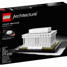 Oferta Lego Architecture 21022 Lincoln Memorial Washington Original Nou Sigilat