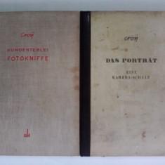 Doua carti despre fotografie de Otto Croy / R5P4F - Carte Fotografie
