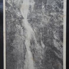 Vedere/Carte postala - Sasca Montana - Cascada - Carte Postala Bucovina dupa 1918, Necirculata
