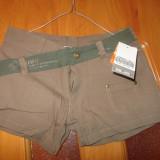 Pantaloni scurti army noi - Pantaloni dama, Marime: S, Culoare: Coffee