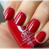 OJA ORLY NAIL POLISH -RED FLARE-18 ML