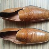Pantofi Yves Saint Laurent originali,piele naturala,nr.43,superbi.