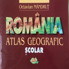 ATLAS GEOGRAFIC SCOLAR - Octavian Mandrut