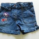Pantaloni, pantalonasi scurti, blugi fetite, 2-4 ani, marimea 98 cm