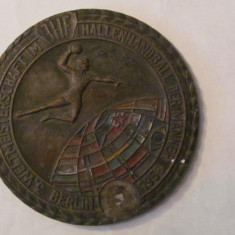 "MMM - Medalie Germania ""Handbal Campionatul Mondial in 11 Berlin 1958"" bronz, Europa"