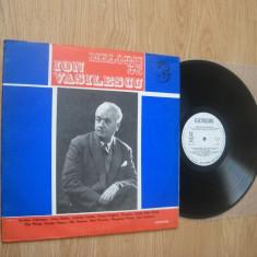 Melodii de ION VASILESCU 3(vinil rar)Muzica usoara de calitate pentru nostalgici - Muzica Pop electrecord