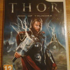 JOC WII THOR GOD OF THUNDER ORIGINAL PAL / by DARK WADDER - Jocuri WII Sega, Actiune, 12+, Single player