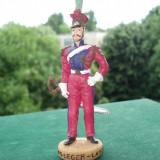 2406.Figurina din rasina - Chevau Legere - Lancier 10 cm