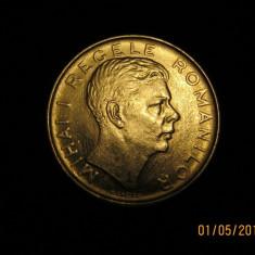 Moneda 100 lei 1943 - Moneda Romania